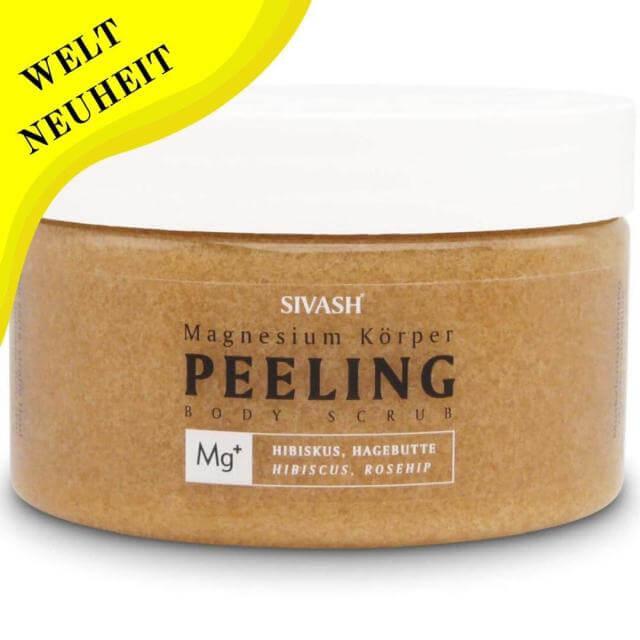Sivash Magnesium Körper Peeling mit Hagebutte und Hibiskus