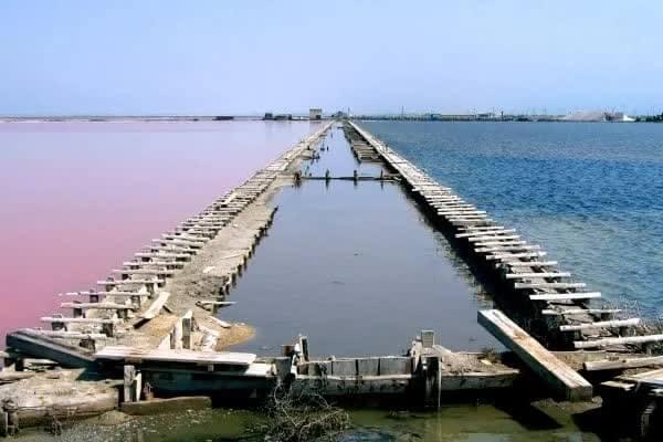 Naturbelassenes Meersalz aus der rosa, an Beta-Carotin reichen Sole