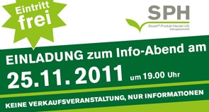 Info-Abend am 25. November 2011