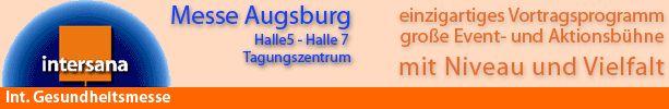 Gesundheitsmesse Intersana in Augsburg