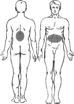 Behandlung der Gastritis mittels Peloidtherapie mit Sivash-Heilschlamm
